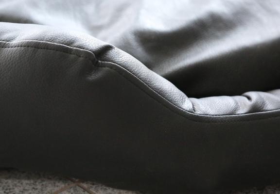 sleepydog hundebett donut black. Black Bedroom Furniture Sets. Home Design Ideas