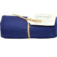 Solwang Handtuch - staubig blau