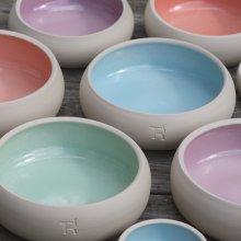 "Hundenapf Keramik ""Pastell"""