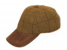 Baseball Cap Tweed beige