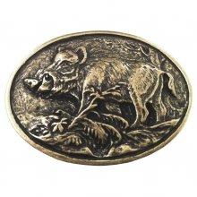Gürtelschließe Wildschwein