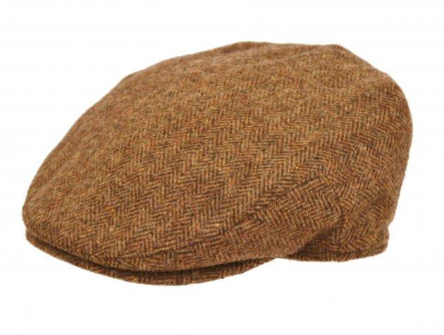 Cheshire Flat Cap braun