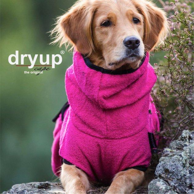 Hundemantel Dryup Cape Pink